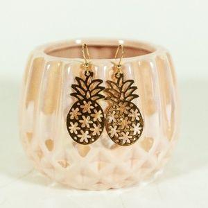 Sale! 2/$20 or 3/$25 Gold Pineapple Earrings
